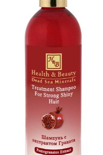 Vyživující šampon s granátovým jablíčkem 400 ml