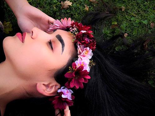 Květinový věneček Gerbera