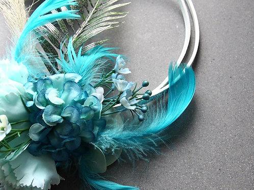 Věneček Bohemian Turquoise