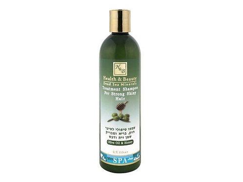 Šampon s olivovým olejem a medem - 400 ml