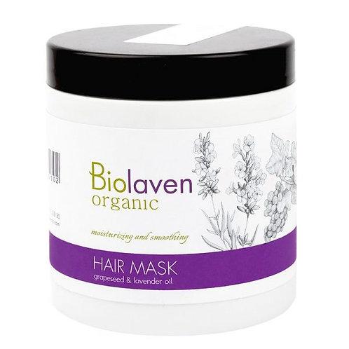 Změkčující a zvlhčující hroznová maska na vlasy - ORGANIC