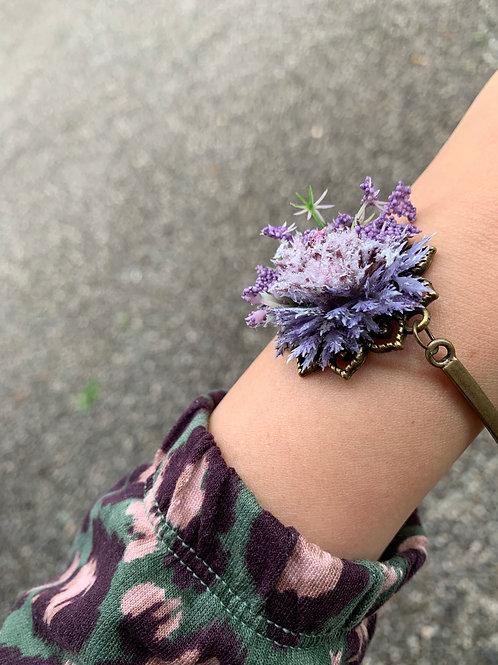 Květinový náramek Purple Bay