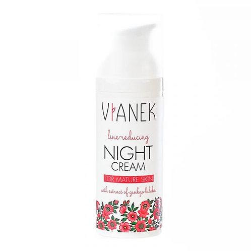 VIANEK - Noční pleťový protivráskový krém