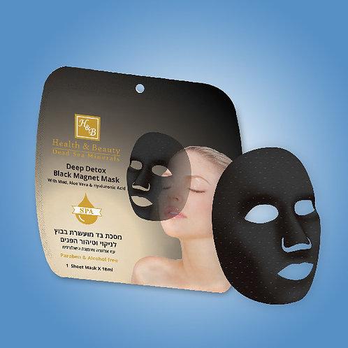 Detoxikační jednorázová magnetická maska