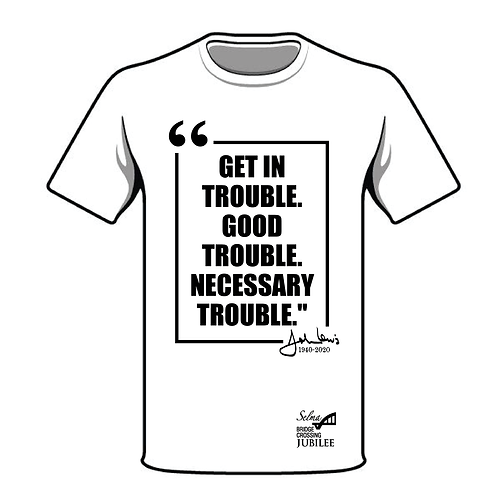 Good Trouble Block Quote Shirt