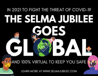 PRESS RELEASE -- OCTOBER 8TH, 2020 -- The Bridge Crossing Jubilee Goes Global as a Virtual Event