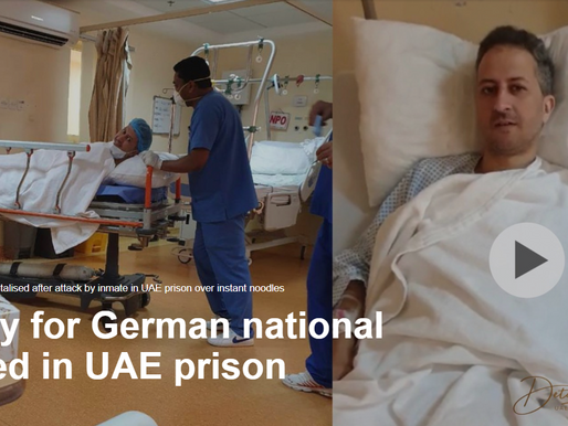 Surgery for German national attacked in UAE prison