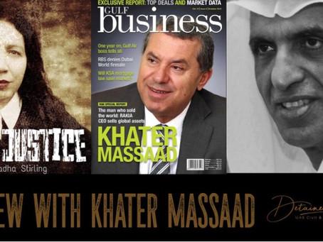 Interview with Khater Massaad on Sheikh Saud, ruler of RAK