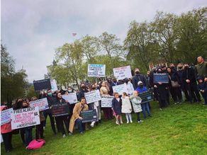 Bring Albert Home from Dubai campaign gathers pace as Romany Gypsy supporters rally in London