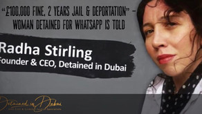 """Woman faces """"£100,000 fine and 2 years in prison"""" for WhatsApp message in Dubai"""