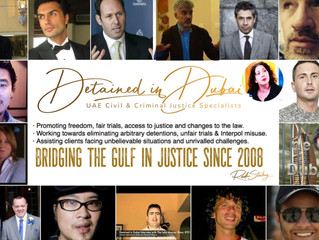 Detained in Dubai's 13th Anniversary