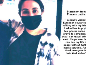 Princess Latifa issues media statement