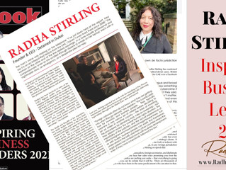 Radha Stirling - Inspiring Business Leader 2021 Feature