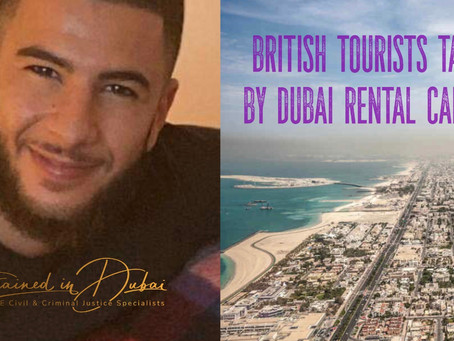 Breaking News - ANOTHER Dubai Rental Car Extortion SCAM