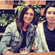 Latifa pictured with ex British police woman