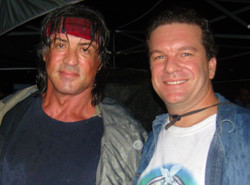 James With Producer/Actor/Director