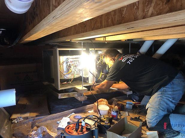 hvac furnace repair.