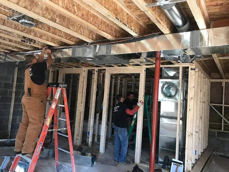 home ductwork installation