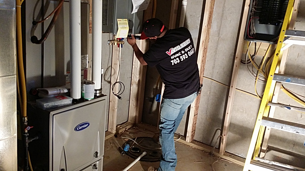 special Tankless installation in hvac