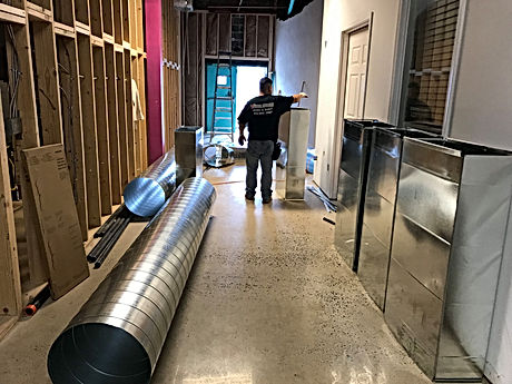 spiral paper ductwork