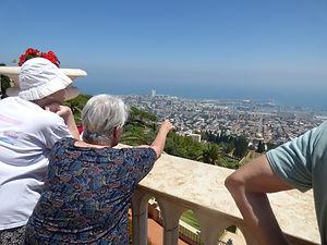 Uitje naar Haifa