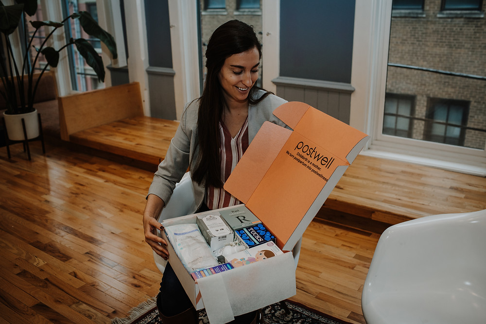 she is balanced anxiety medication startup business woman ceo small birth postpartum postwell gift box subscription pregnant gift baby shower unique local shop lifestyle blog