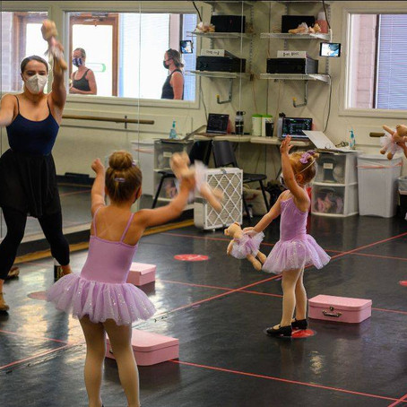 Get your Preschool and School-aged Dancers Back