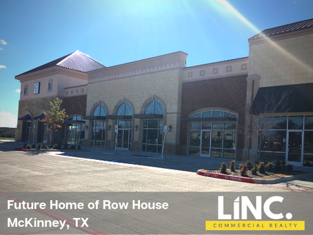 LINC Welcomes Row House to its Newest Location in McKinney, TX!