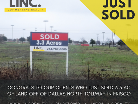 Sold! Frisco Lot off of Dallas North Tollway has New Owner