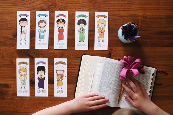 PDF Young Women Bookmarks - ENGLISH