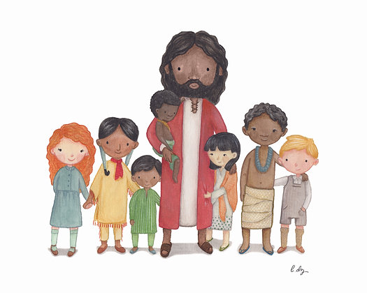 PDF - More Nations than One - Dark Skinned Jesus with Children