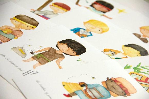 Little Prophet Print Set of 10
