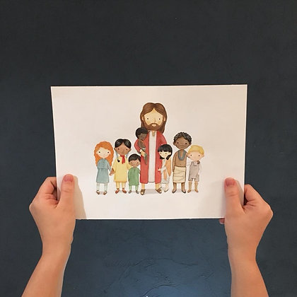 PDF More Nations than One - Christ with Children from all over the World