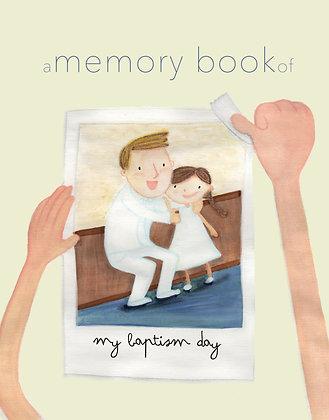 Baptism Memory Book PDF Download- Light Skinned Girl