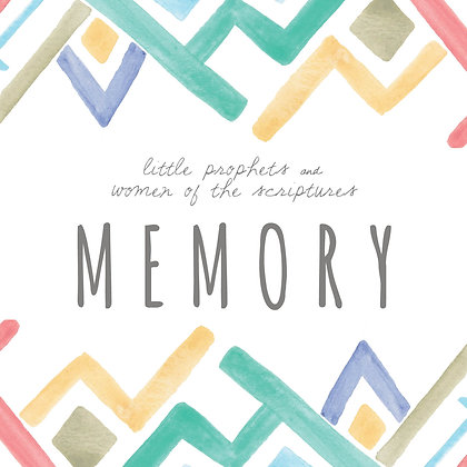 Memory Game with the Little Prophets and Women of the Scriptures
