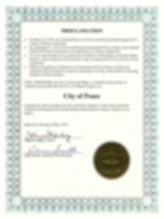 Proclamation - Int City of Peace.jpg