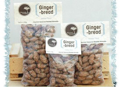 Gingerbread Roasted Almonds (avail. Oct - Dec)