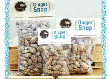 Ginger Snap Roasted Almonds