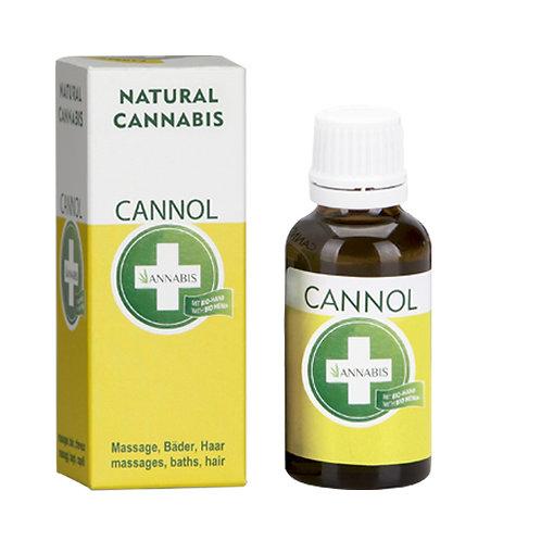 CANNOL Massageöl und Badeöl aus Hanfsamenöl