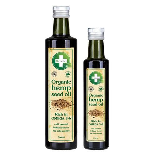 Bio Hanfsamenöl Omega 3-6 kaltgepresst