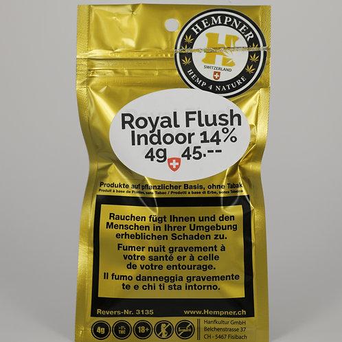 Indoor Royal Flush CBD Blüten Kurierdienst