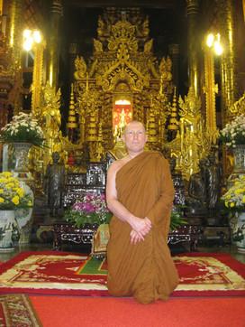 The second Abbot, Ajahn Khemānando