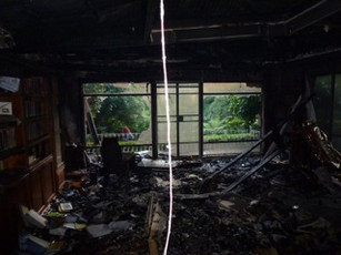 Sala post-fire