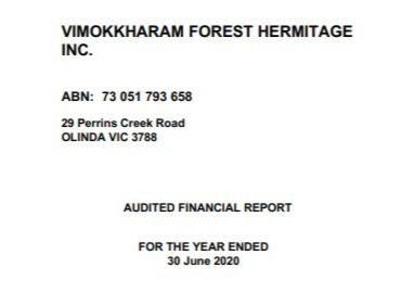 2020 Annual Financial Statement