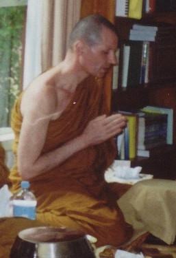 The first Abbot, Ajahn Ian Ariyesako