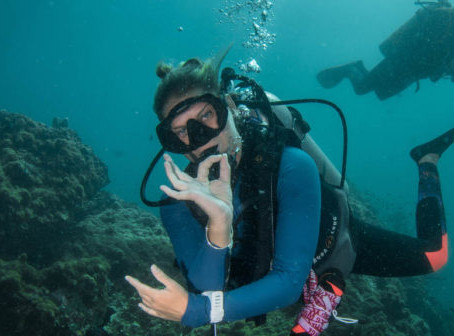 Nat at Learned.Live Enjoys Some Press Attention For Scuba Diving At Home
