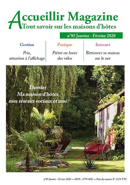 Accueillir Magazine janv fev 2020