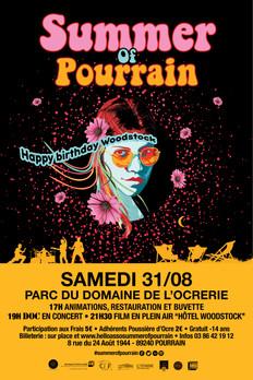 Summer of Pourrain le 31 août 2019 à partir de 17h