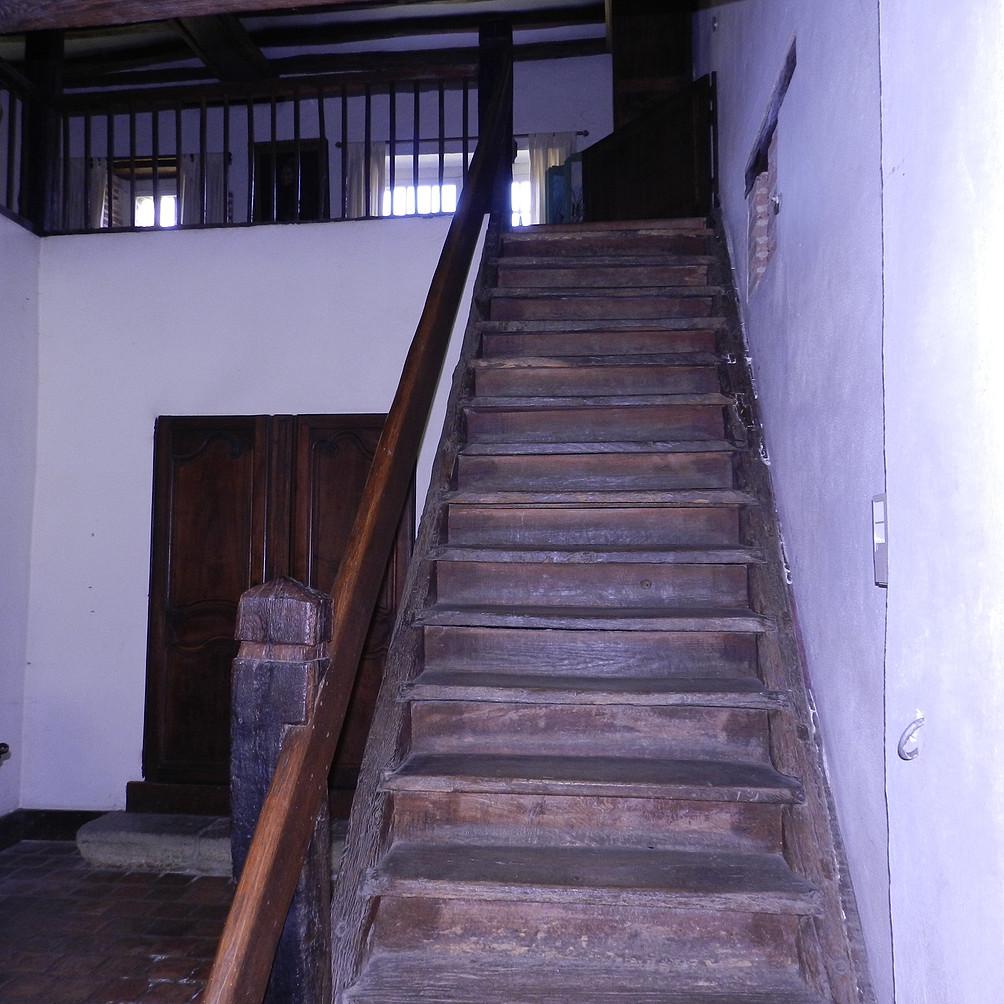 Avant... un escalier de meunier
