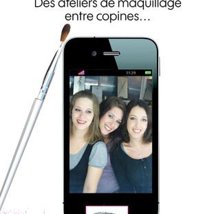 Nouveau dans l'Yonne ! Des ateliers de maquillage entre copines & entre mère & fille(s)